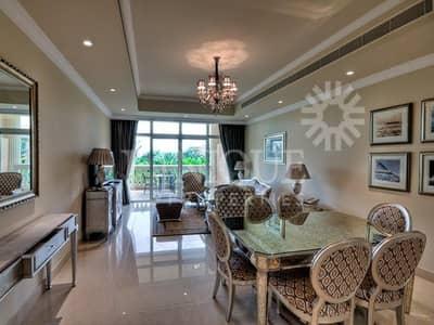 فلیٹ 2 غرفة نوم للبيع في نخلة جميرا، دبي - Full Sea and Marina Skyline Views | Low Floor