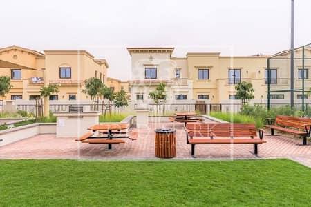 فیلا 3 غرف نوم للايجار في ريم، دبي - Single row l Dessert facing l Landscaped garden