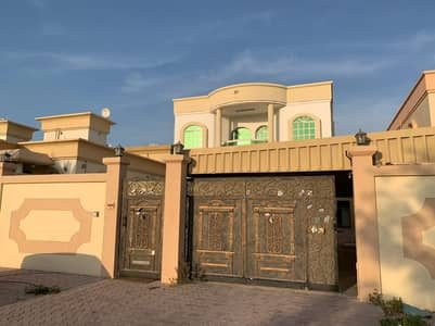5 Bedroom Villa for Rent in Al Rawda, Ajman - For rent at the lowest prices with payment facilities and electricity in the name of a local