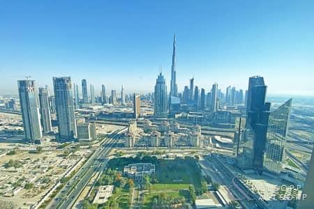 فلیٹ 1 غرفة نوم للايجار في مركز دبي المالي العالمي، دبي - One Bedroom | Burj View | Chiller Free