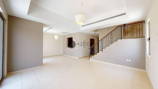 3 Bedroom Townhouse for Rent in Reem, Dubai - Type 1E | Single Row | Study Room | Pool view