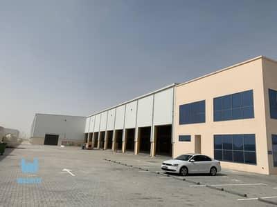 مستودع  للايجار في جبل علي، دبي - HUGE PRIVATE  BRAND NEW COMMERCIAL  WAREHOUSE /TECHNO PARK