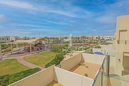 تاون هاوس 3 غرف نوم للايجار في ريم، دبي - Corner unit | Pool and park | Single row