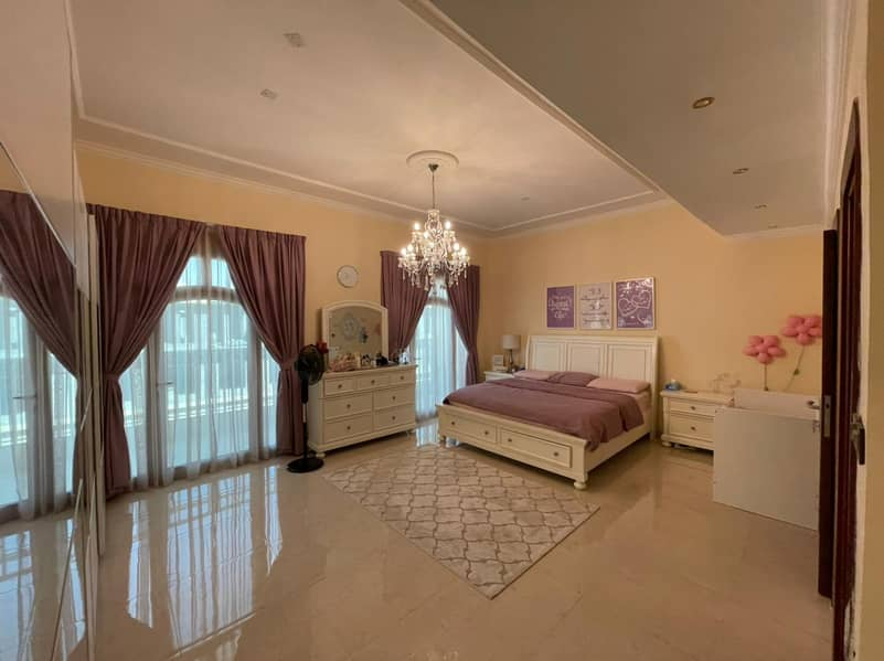 Modified Excellent Condition Four Bedrooms Villa for Sale at Camellia Uptown Ajman. . . !