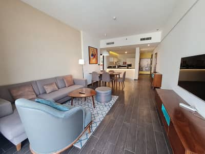 2 Bedroom Apartment for Rent in Jumeirah Village Circle (JVC), Dubai - LUXURIOUS FURNISHED | WIDE-OPEN 2BR | WITH BALCONY @89999