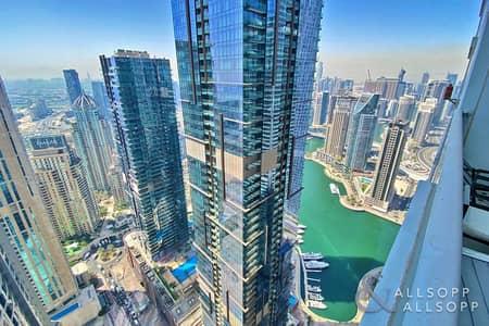 شقة 3 غرف نوم للبيع في دبي مارينا، دبي - High Floor   Vacant   3