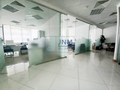 Office for Rent in Barsha Heights (Tecom), Dubai - Fitted Office Space with 5 Partitions | Low Floor