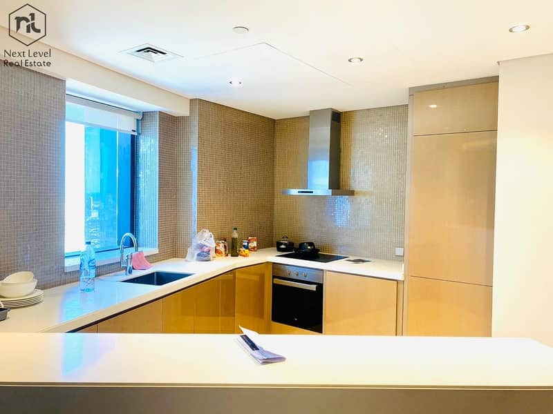 2 Fully Furnished   Amazing View    High Floor   3 Bedroom