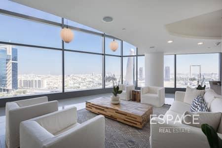 فلیٹ 4 غرف نوم للبيع في مركز دبي التجاري العالمي، دبي - 4BR plus Maids Duplex | Signature Series