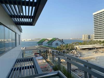 فلیٹ 1 غرفة نوم للايجار في شاطئ الراحة، أبوظبي - Great Deal Huge 1BR with balcony |Full Sea View| Access in beach