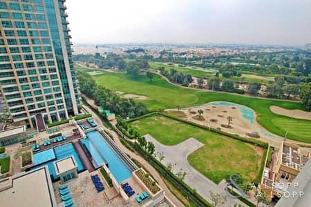 فلیٹ 1 غرفة نوم للبيع في ذا فيوز، دبي - 1 Bedroom | Fairways | Lake & Golf Views