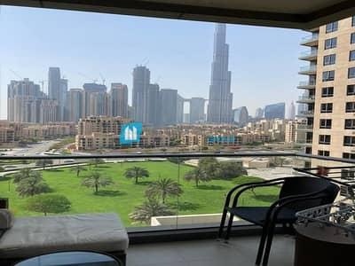 فلیٹ 2 غرفة نوم للايجار في وسط مدينة دبي، دبي - Burj Khalifa View I Spacious and Cozy I Call now
