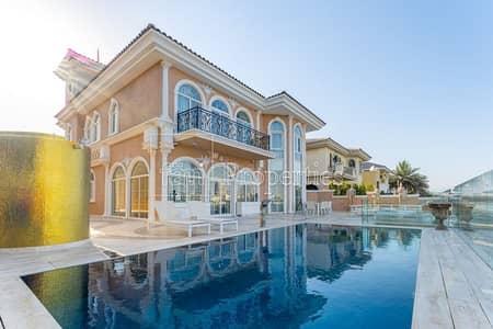 فیلا 5 غرف نوم للبيع في نخلة جميرا، دبي - Fully Renovated High Number Impresive finishings