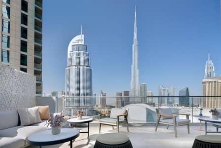 2 Bedroom Hotel Apartment for Sale in Downtown Dubai, Dubai - Luxurious 2 Bed | Burj Khalifa & Fountain View|