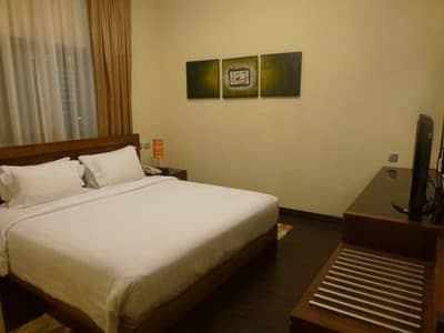 Fully Furnished Apartment...!!! 2BHK AC chiller free with all Facilities