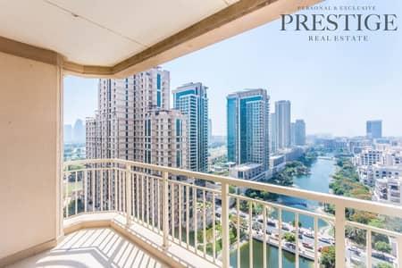 شقة 1 غرفة نوم للبيع في ذا فيوز، دبي - Rare Unit   Golf-Lake facing 1 Bed   Mosela