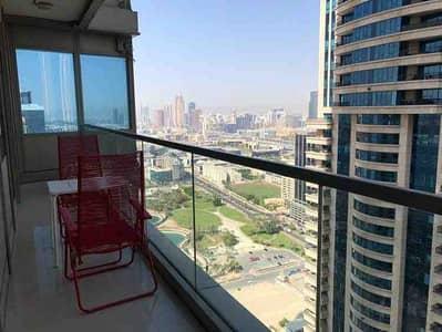 فلیٹ 3 غرف نوم للايجار في دبي مارينا، دبي - شقة في أوشن هايتس دبي مارينا 3 غرف 119000 درهم - 5186751