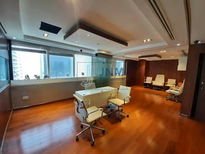 Office for Sale in Jumeirah Lake Towers (JLT), Dubai - Higher Floor   Fitted and Partitioned Office Space