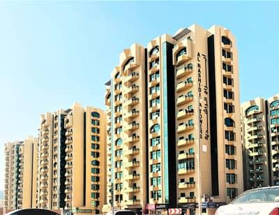 شقة 1 غرفة نوم للايجار في الراشدية، عجمان - شقة في أبراج الراشدية الراشدية 1 غرف 20000 درهم - 5187020