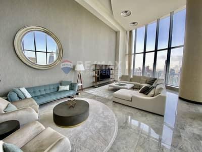 بنتهاوس 4 غرف نوم للايجار في وسط مدينة دبي، دبي - Full Burj View And fountain   4 BR + maids    Vacant
