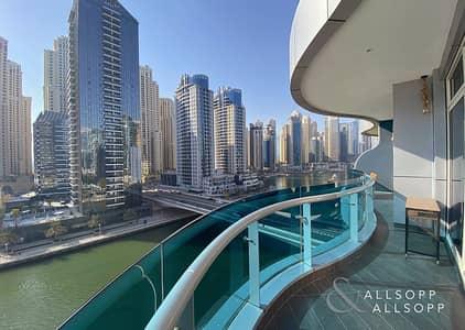 2 Bedroom Apartment for Sale in Dubai Marina, Dubai - Upgraded   Full Marina View   Two Bedroom