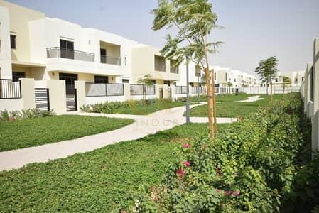 3 Bedroom Villa for Sale in Town Square, Dubai - Green Belt | Type 2 | 3BR+M Naseem Townhouse Nshama
