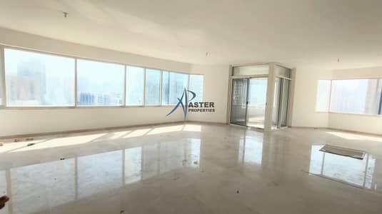 فلیٹ 4 غرف نوم للايجار في شارع السلام، أبوظبي - wonderful  4 Bed Apartment in Al Wahda Tower