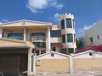 5 Bedroom Villa for Rent in Al Rumaila, Ajman - SPACIOUS 5 BEDROOMS HALL MAJLIS VILLA WITH COVARD PAKRKING 85K AL RUMAILA AJMAN