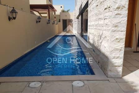 5 Bedroom Villa for Sale in Al Raha Gardens, Abu Dhabi - Striking 5 Bedroom Villa with Private Pool   Luxury Lifestyle