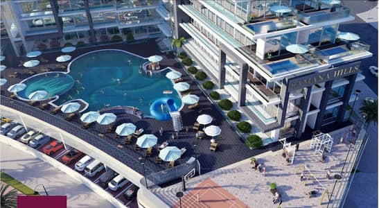 1 Bedroom Apartment for Sale in Arjan, Dubai - amazing  one apartment / monthly installment/wonderful view
