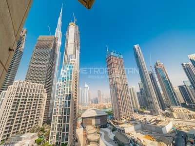 شقة 2 غرفة نوم للايجار في وسط مدينة دبي، دبي - Partial Burj View | Spacious | Ready to move in|