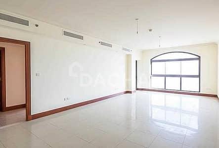 شقة 2 غرفة نوم للايجار في نخلة جميرا، دبي - 12 Cheques / Unfurnished / Spacious / VACANT