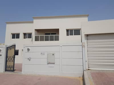 5 Bedroom Villa for Rent in Barashi, Sharjah - Stand Alone  5 Bedroom Hall Double Storey Villa with Maids Room, and Parking