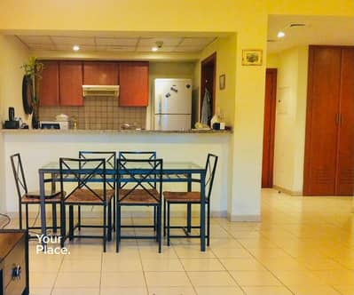 1 Bedroom Apartment for Rent in The Greens, Dubai - Chiller Free - Fully Furnished - Garden View