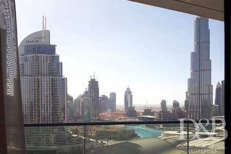 فلیٹ 1 غرفة نوم للايجار في وسط مدينة دبي، دبي - Luxury Furnished | Serviced | Burj Views