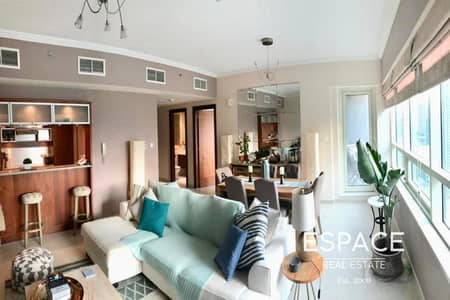 1 Bedroom Apartment for Rent in Dubai Marina, Dubai - Balcony | Marina View | Unfurnished