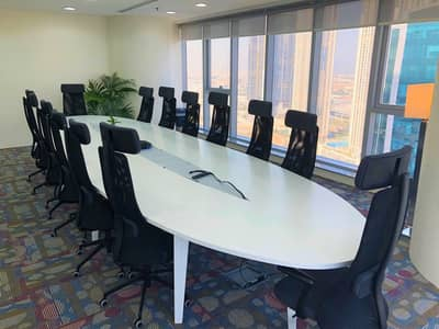 Furnished Offices / Business Bay / 6 Months 14,000 AED with Ejari