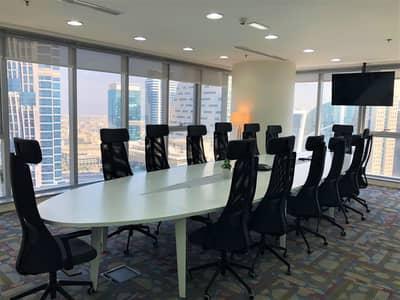 مکتب  للايجار في الخليج التجاري، دبي - Conference Room