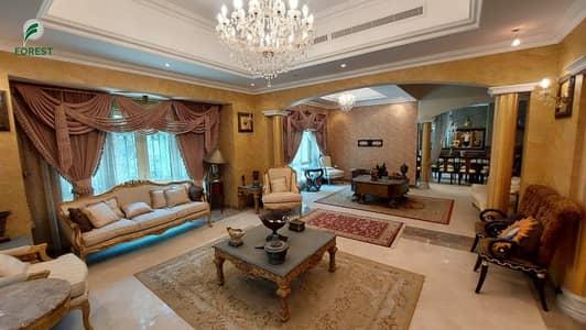 فیلا 4 غرف نوم للايجار في جزر جميرا، دبي - Partial Lake View|4BR + M |Private Pool and Garden