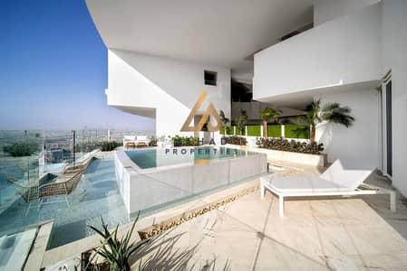 بنتهاوس 4 غرف نوم للبيع في قرية جميرا الدائرية، دبي - High ROI | Private Pool + Terrace | Highest Floor