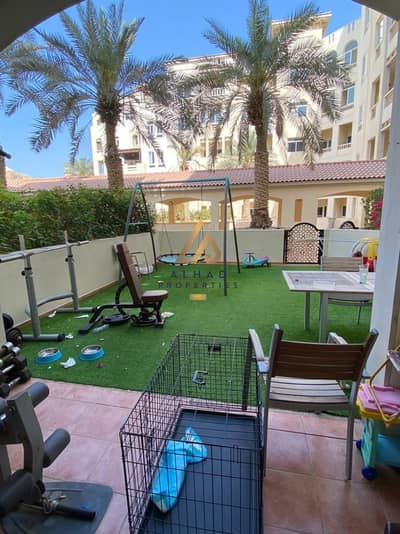 2 Bedroom Flat for Rent in Dubai Festival City, Dubai - An amazing 2 Bedrooms + Maid + Store with Garden