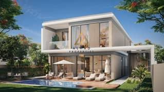 Luxury villa next to the crystal lagoon