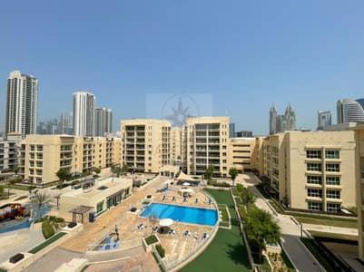 شقة 2 غرفة نوم للايجار في الروضة، دبي - Amazing Pool View 2 Bedroom + Study in Greens