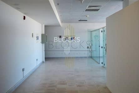 مکتب  للايجار في أبراج بحيرات الجميرا، دبي - Fitted office space for rent in HDS