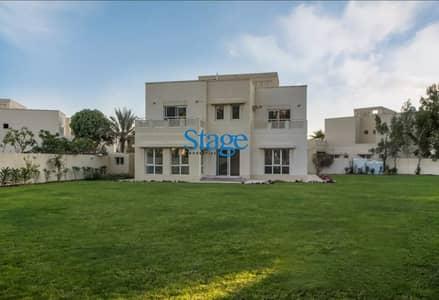 فیلا 5 غرف نوم للبيع في السهول، دبي - Outstanding Plot I Vacant & Single Row I Meadows 2