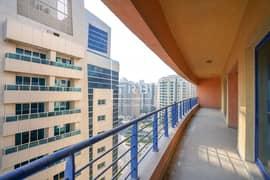 شقة في AB بلازا 6 برشا هايتس (تيكوم) 2 غرف 55000 درهم - 5190140