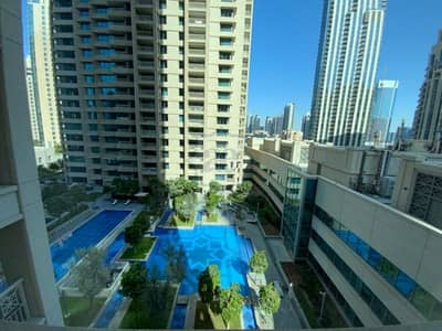فلیٹ 1 غرفة نوم للايجار في وسط مدينة دبي، دبي - Vacant Soon! Unfurnished 1BR|Pool View and Ready to View