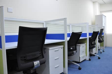 Office for Rent in Business Bay, Dubai - Deal of the month - Low cost desk space