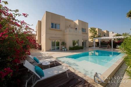 فیلا 5 غرف نوم للايجار في السهول، دبي - Lake View   Fully Upgraded   Private Pool