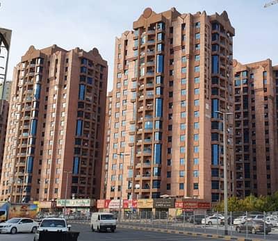 2 Bedroom Flat for Rent in Al Nuaimiya, Ajman - Best offer! 2 Bedroom Hall w/ maid's room on a high floor in Al Nuamiya Towers